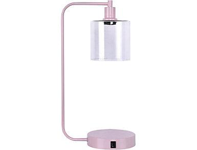 Matte Rose USB Task Lamp, , large