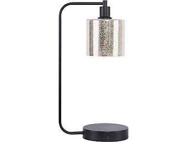 Matte Black USB Task Lamp, , large
