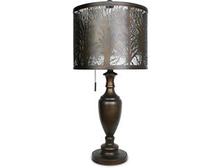 Table lamps and desk lamps art van home woodlands table lamp large aloadofball Gallery