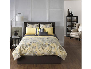 Soleil 4 pc Full Comforter Set, , large