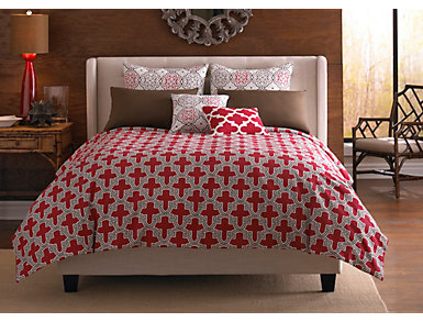 Sinbad 4 pc Full Comforter Set, , large