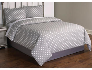 Dotty 2 Piece Twin Comforter Set, , large