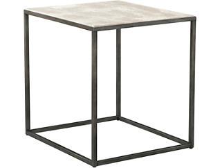 Modern Basics Rectangular End Table, Ivory, , large