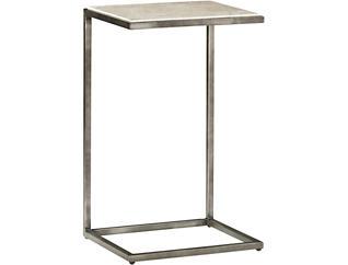 Modern Basics Chairside Table, Ivory, , large