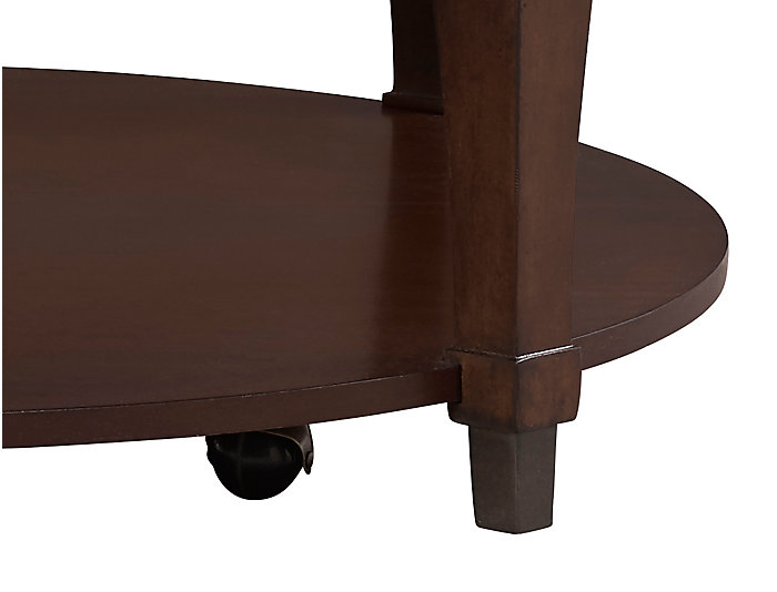 Sunset Valley Mahogany Round Coffee Table