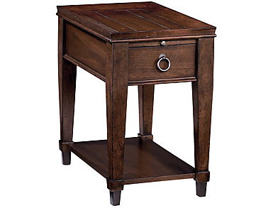 Sunset Valley Chairside Table, Brown, , large