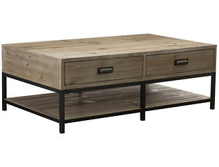 Parsons Rectangular Cocktail, Pine, , large