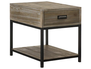 Parsons Rectangular End Table, Brown, , large