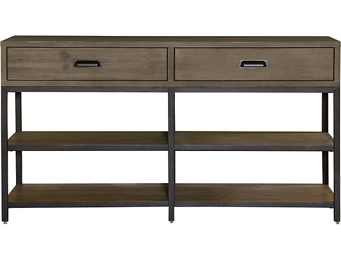 Parsons Console Table, Brown, , large