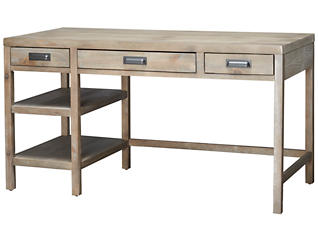 Parsons Desk, Brown, , large