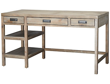 Parsons Desk, Brown, , large