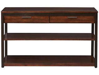Franklin Sofa Table, Cherry, , large