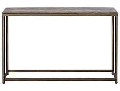 Leone Brown Sofa Table, , large