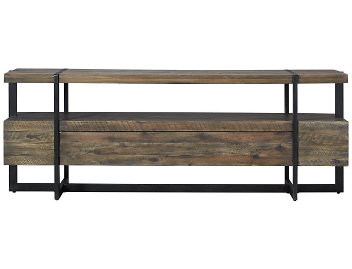 Modern Timber Console, Natural, , large