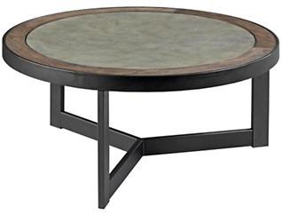 Greystone Round Coffee Table, Oak, , large
