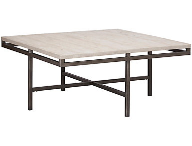 East Park Square Cocktail Table, Metal, , large