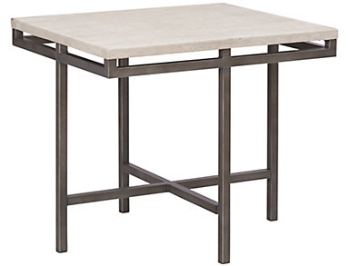 East Park Rectangular End Table, Metal, , large