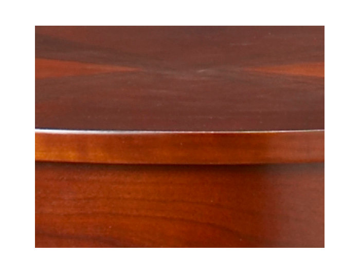 Oval End Table, , large