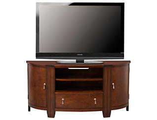 Oasis Entertainment Console, Brown, , large