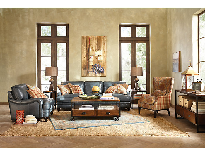 Rectangular Drawer End Table, Brown, , large