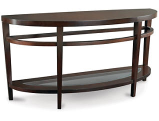 Urbana Sofa Table, Brown, , large