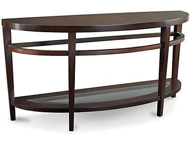 Urbana Dark Merlot Sofa Table, , large