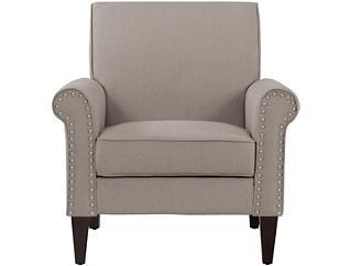 Calvert Beige Chair, Beige, large
