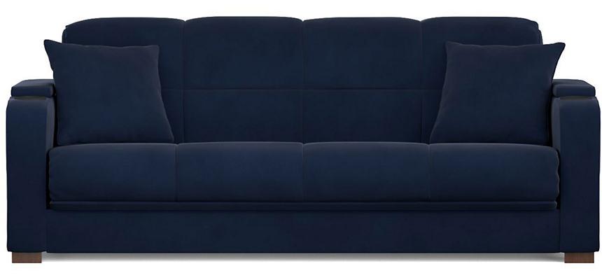Lee Navy Velvet Sofa Bed