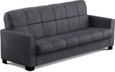 Jax Microfiber Sofa Bed Grey Swatch