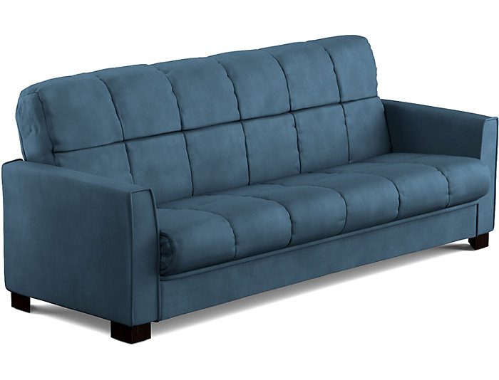 Jax Blue Microfiber Sofa Bed | Art Van Home