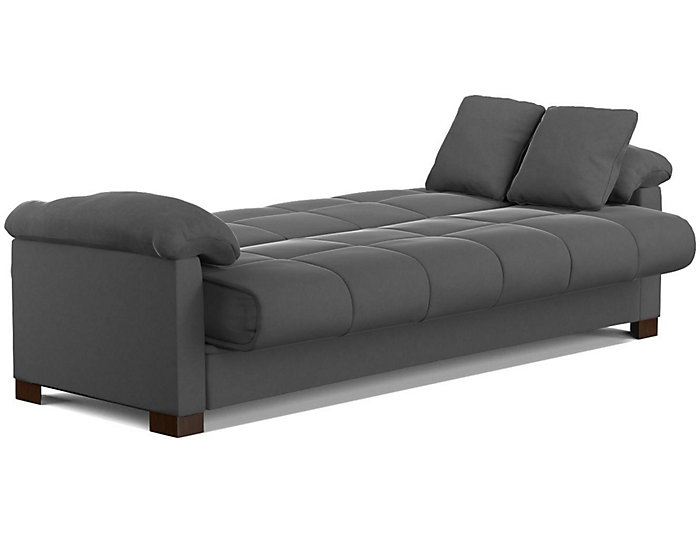 Jay Grey Microfiber Sofa Bed | Art Van Home