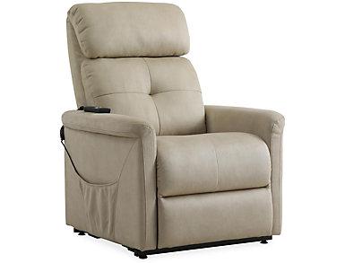 Clara Beige Lift Chair, , large