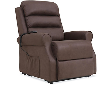Solano Brown Lift Chair, , large