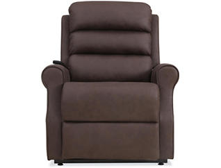 Solano Brown Lift Chair, Brown, large
