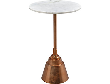 Aluminium Rose Gold Table, , large