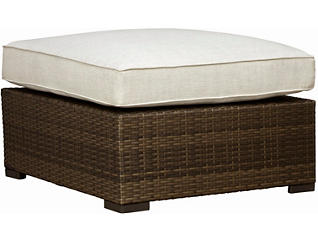 Dover Ottoman, Brown, , large