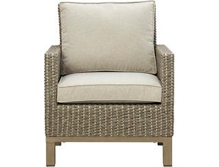 Lennox Beige Lounge Chair, , large