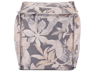 Babar Charcoal Spuare Pouf, , large
