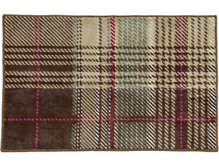 Forest Pines Plaid Rug, 24x36, , large