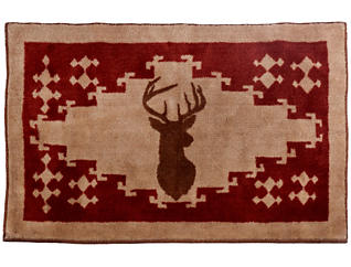 "Axis Deer Rug, 24""X36"", , large"