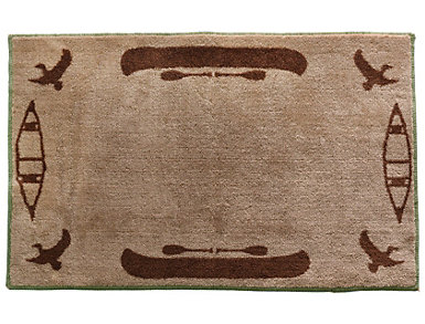 """Clearwater Canoe Rug 24""""X36"""", , large"""