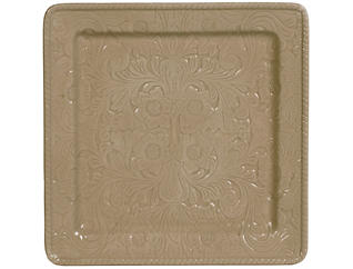 Savannah Taupe Serving Platter, , large