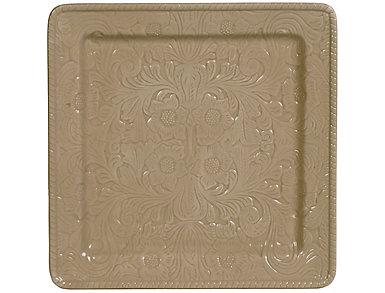 Savannah Taupe Serving Platter, , large