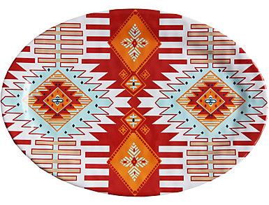 """20"""" Southwest Serving Platter, , large"""