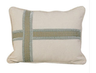 Cross Design Pillow 16x21, , large