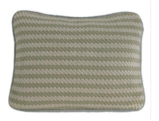 Knitted Pillow 16x21, , large