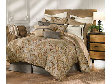 4 Piece Piedmont King Comforter, , large
