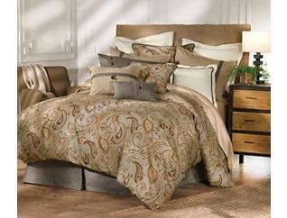 4 Piece Piedmont Queen Comforter, , large