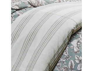 Stripe Queen Duvet, , large