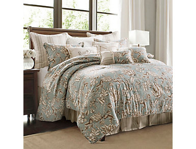 4 Piece Gramercy King Comforter, , large